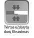 Dusjdør med vegg til veggåpninger IEVA PLIUS